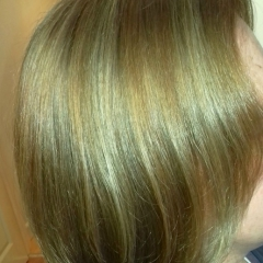 Blonde & Copper Highlights